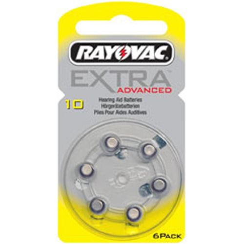 Rayovac Hearing Aid Batteries 10